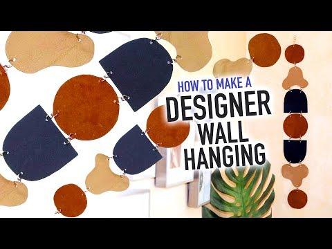 DIY Designer Wall Hanging You Can Make At Home!  HGTV Handmade