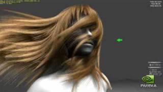 nvidia geforce gtx 400 hair tesselation demo