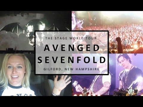 VLOG: Avenged Sevenfold Concert in Gilford, NH @ Bank of NH Pavilion
