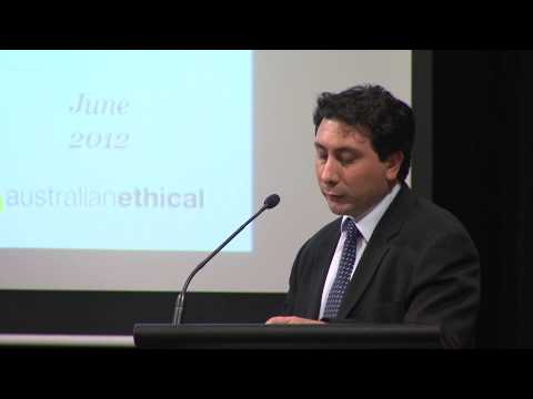 How our investments perform -- David Macri, at Australian Ethical Roadshow