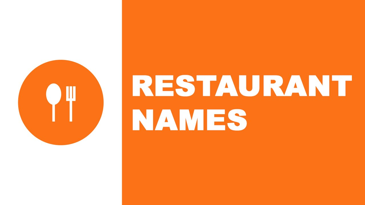 Restaurant names the best names for your company www for Cuisine names