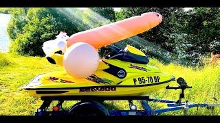 Катаем на гидроцикле BRP XP/ Активный отдых и развлечения