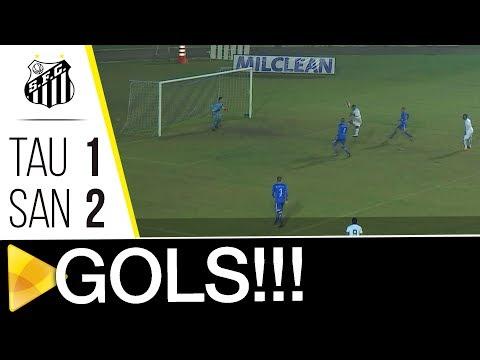 Taubaté 1 x 2 Santos B | GOLS | Copa Paulista (19/08/17)