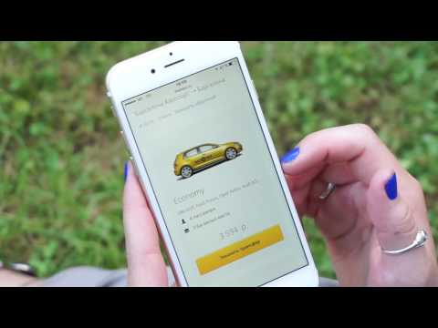 Как заказать такси за границей