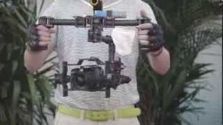 Test DYS Eagle Eye Camera Mount - 3 Axis Gimbal With Panasonic GH3 + 7-14mm