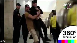 Суд проведет слушания по делу мужчины, поднявшего росгвардейца в метро