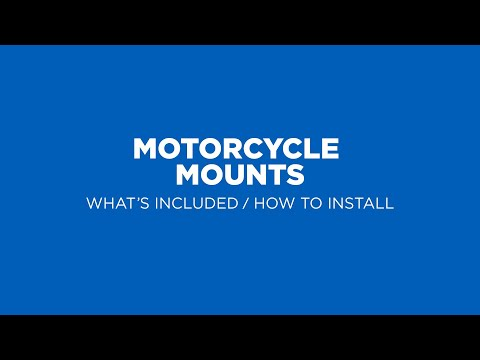 Quad Lock How To - Motorcycle Smartphone Mounts (2019)