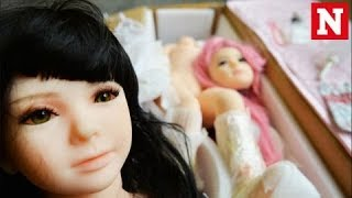 The rise of child sex dolls being sold online