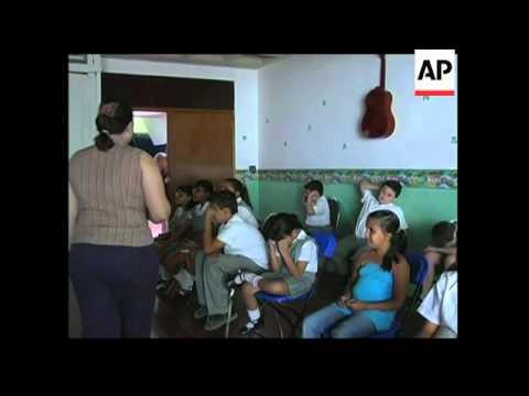 School for blind children in Mexico