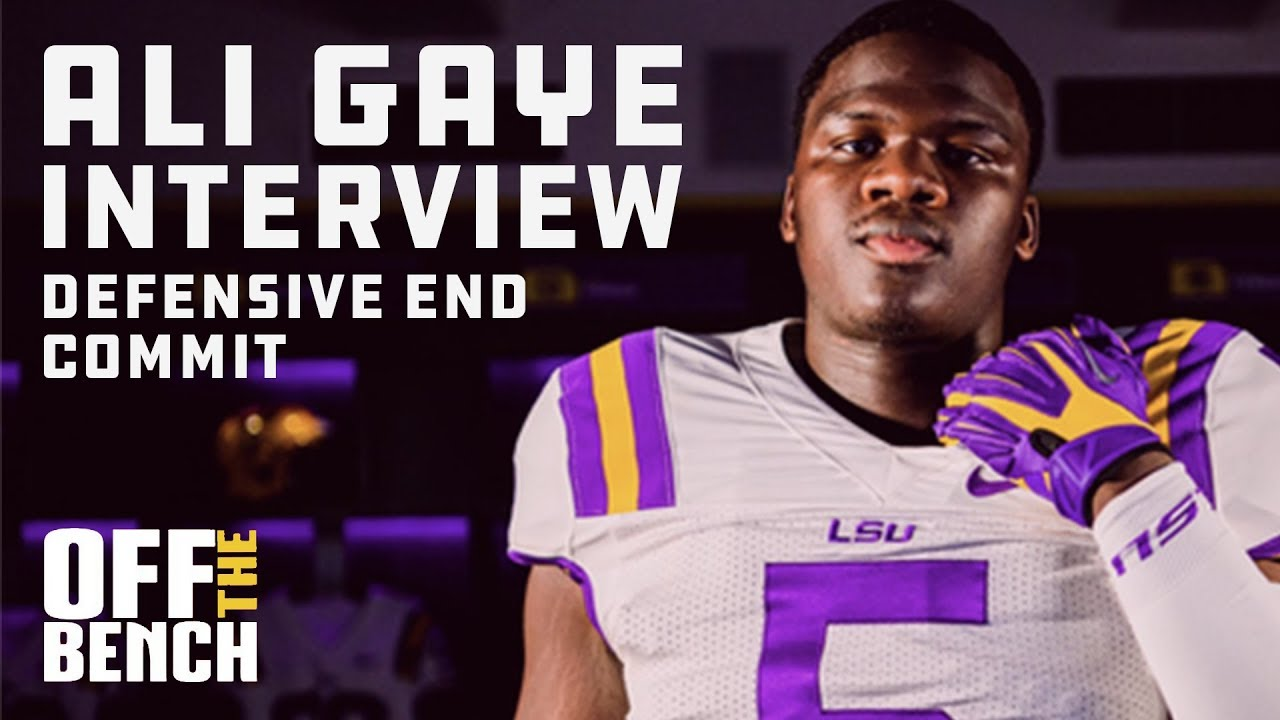Ali Gaye Top Rated Defensive End On Committing To Lsu S 2020