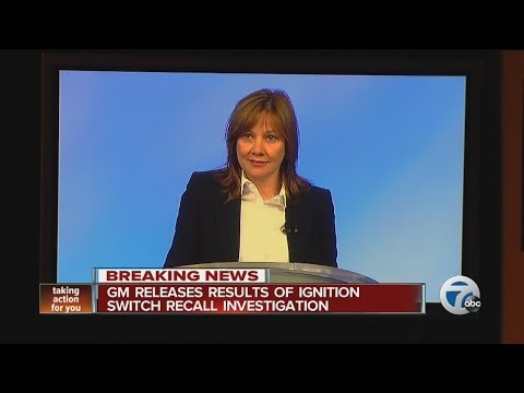 GM releases results of ignition switch recall investigation