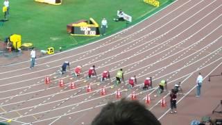 世界陸上北京 男子100m決勝 2015/8/23
