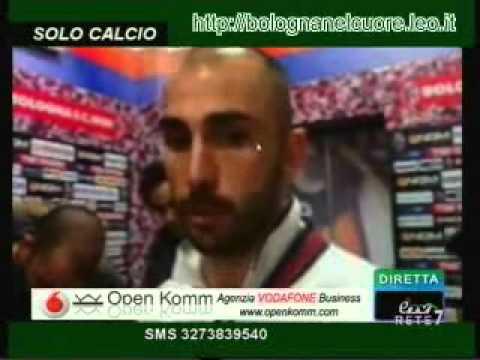 Bologna FC 1909 – Juventus 1-1 07/03/2012 Di Vaio nel dopopartita