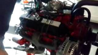 Firing Mopar small block 273 cui HiPo 1966 Commando