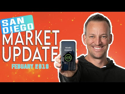 February 2018 San Diego Real Estate Market Update with Kyle Whissel