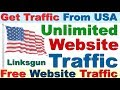 GET FREE UNLIMITED WEBSITE TRAFFIC FROM USA & UK 2019 | ORGANIC TRAFFIC FROM USA & UK FOR FREE 2019