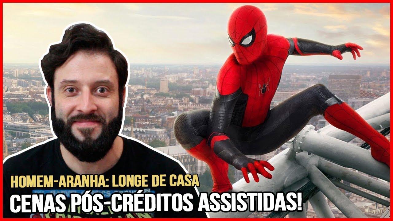HOMEM-ARANHA: LONGE DE CASA   CENAS PÓS-CRÉDITOS!   Com Muito Spoiler!