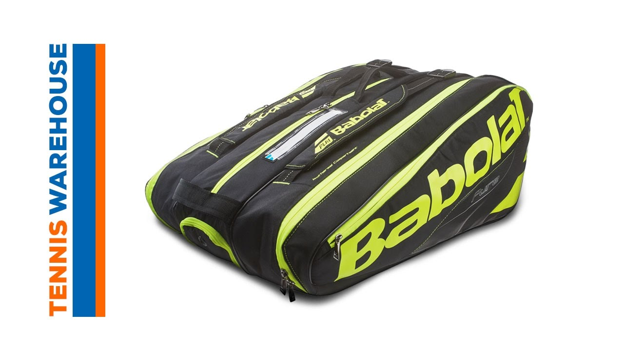 Babolat Pure 12 Pack Bag Tennis Warehouse