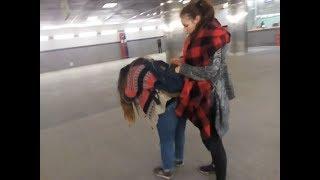 Смотреть видео Московский влог в районе на станции метро Мякинино Москва vlog ВЕСНОЙ НОЧЬЮ онлайн