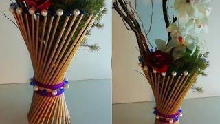 News pepper flower vase/papper art/ന്യൂസ് പേപ്പർ കൊണ്ട് ഒരു പൂ ചെട്ടി