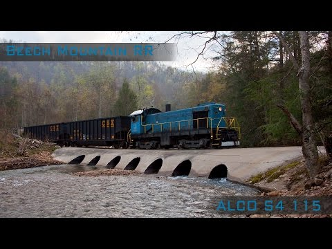 The Beech Mountain Railroad