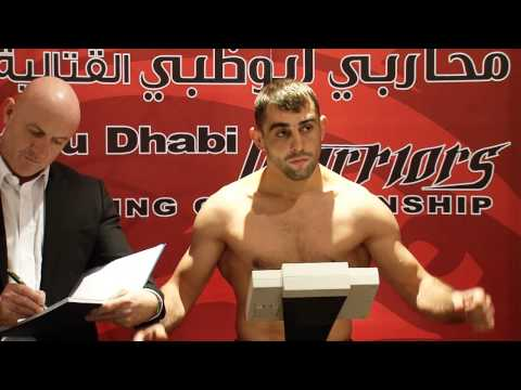 Abu Dhabi Warriors Backstage