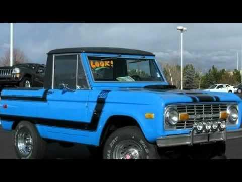1974 Ford Bronco Denver CO