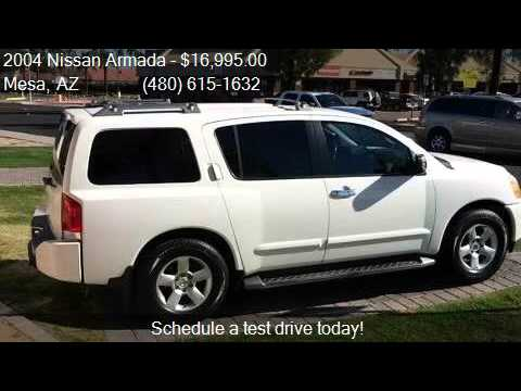 2004 Nissan Armada Se Off Road 4dr Suv For Sale In Mesa
