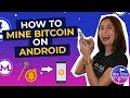ANDROID PHONE MINING APP MINE 0.05BTC in 2 Minutes with an ...