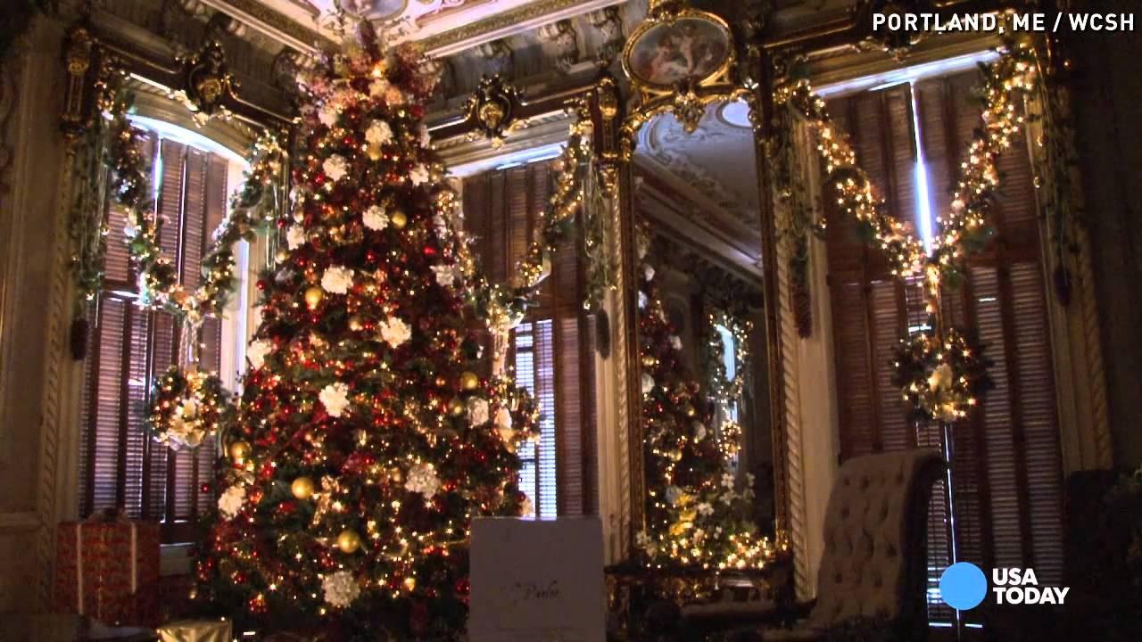 Portland Maine Christmas.Portland Landmark Paints Portait Of Christmas Past