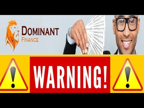 Dominant Finance HYIP Scam Review - Know The Truth Of Crypto Mining!