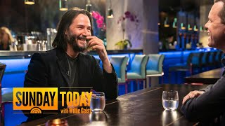 Keanu Reeves Talks About Starting Arch Motorcycle Company, Building Personalized Bikes | TODAY