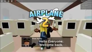el avión de primera clase de ronald!|roblox|parte 1