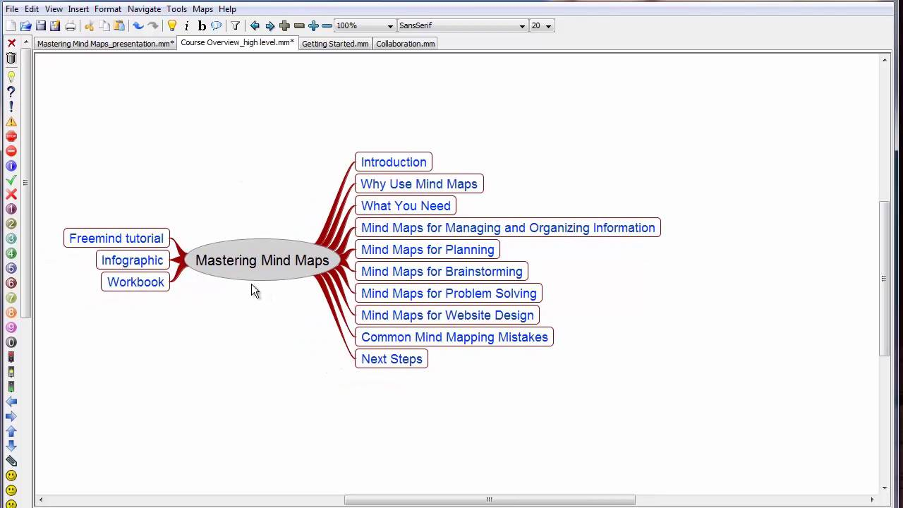 how to use mind maps for giving presentations youtube