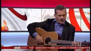 Скачать Colonel Chris Hadfield Space Oddity Live Unplugged On BBC News 24 12 12 13