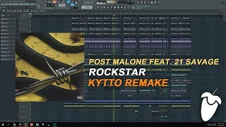 Baixar Post Malone Feat. 21 Savage - Rockstar (FL Studio Remake + FLP)