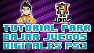 Tutorial Descargar Digitales PS3
