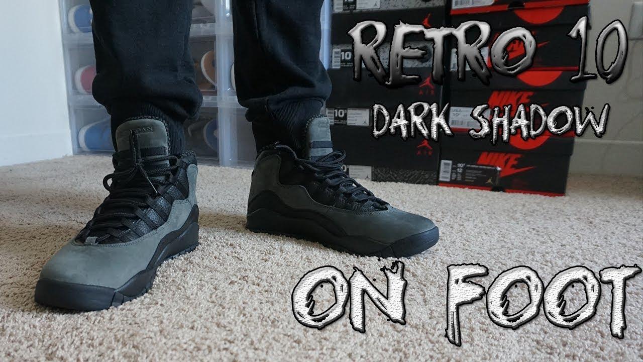5ef005a903a5 Retro 10  Dark Shadow  ON FOOT! - YouTube