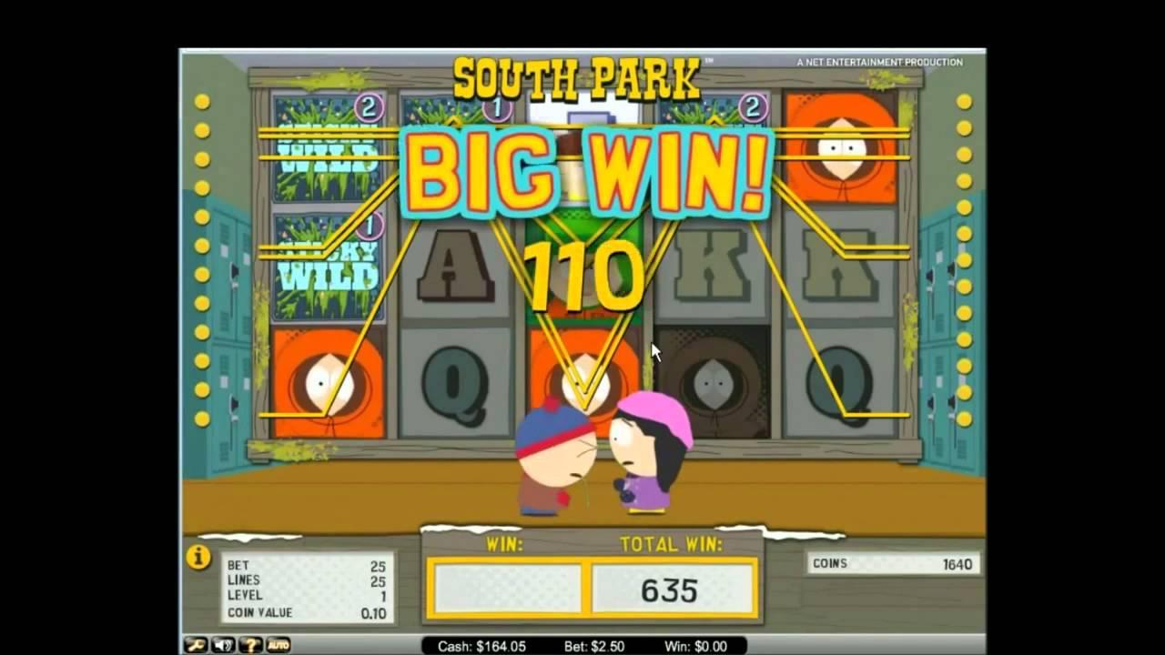 South park игровой автомат