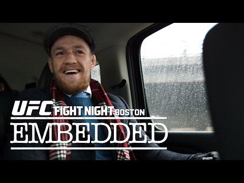 UFC Fight Night Boston: Embedded Vlog – Ep. 1