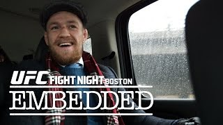 UFC Fight Night Boston: Embedded Vlog – Ep. 1