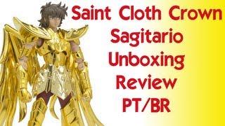 Caixa de Pandora #05 Unboxing Saint Cloth Crown Cavaleiros do Zodiaco Sagitário (PT/BR)