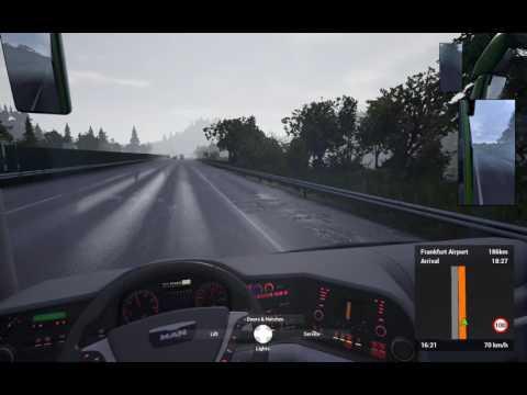 Fernbus Simulator Fernsburg to Munchen