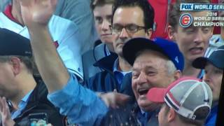 Bill Murray reacts to World Series win