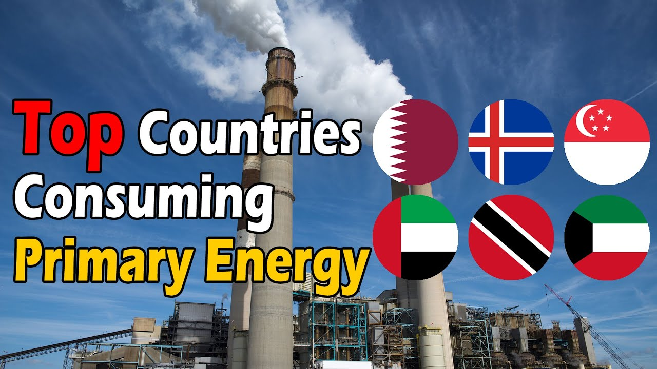 Top Countries in Primary Energy Consumption Per Capita 2020