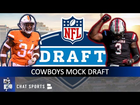 NFL Mock Draft: Dallas Cowboys 7-Round Draft, First Edition For 2020 NFL Draft