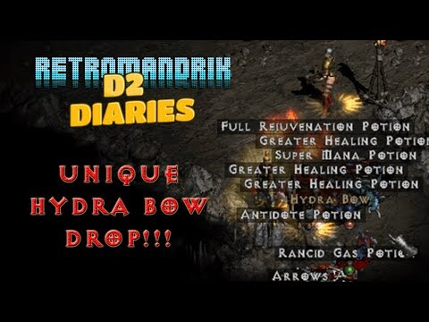 Diablo 2 (PlugY) Single Player - D2 Diaries: Bowazon - Windforce Drops!!! (perfect Roll GG!)
