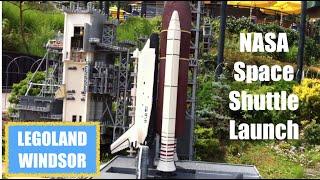NASA Space Shuttle Launch - Lego Style - Legoland Windsor [HD]