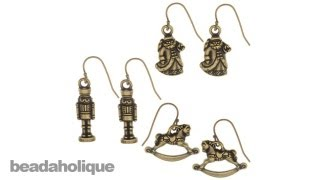 Instructions For Making The Victorian Christmas Earring Set Kit