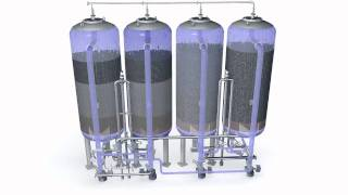 Water treatment system Various filtering aids remove substances lik...